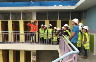 75 école chantier Blomet visite 1