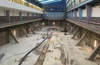 PFP visite chantier piscine Blomet